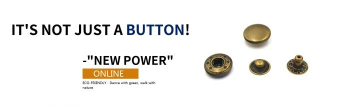 Anti Brass Spring Snap Socket Buttons 4 - Parts For Jacket Bulk Trims Available Sizes