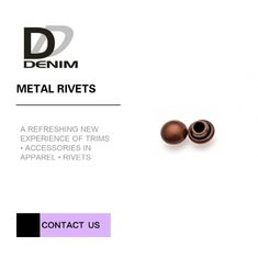 China Small Hat Decorative Brass Rivets Individualized Clothing & Accessories Buttons factory