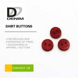 China Durable Stylish Shirt Button 2/4 Holes , Custom Made Buttons For Clothes factory