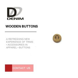 Mini Suit Craft Coloured Wooden Buttons Bulk Apparel Sewing Accessories