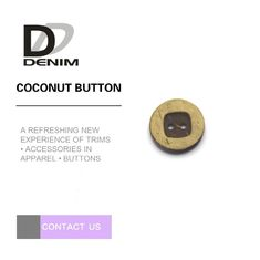 16L Coconut Bulk Buttons 4 Holes With Square Engraved Design supplier