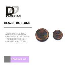 China Elegant White Blazer Buttons , Large Colored Buttons With Nickel Free factory