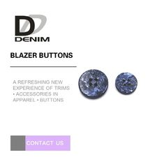 China Large Blazer Coat Buttons With Needle Detector Test For Casual Wear & Suit factory