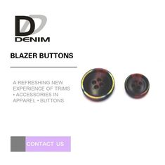 China Popular Colored Blazer Coat Buttons Fashion Design For Commercial factory