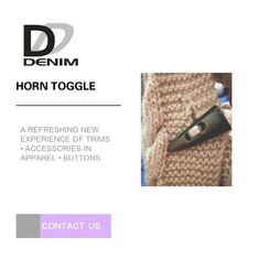 High Durability Horn Coat Buttons Washable Sweater Clothing Accessories