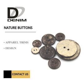 Natural Buttons | 2/4  Hole | Coconut Shirt Buttons