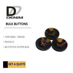 China Small Coat Garment Buttons Style & Design‎ Unique Bulk For Clothing Brands factory