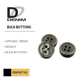 China Eco - Friendly 4 Holes Resin Buttons , Mother Of Pearl Buttons Bulk Orders factory
