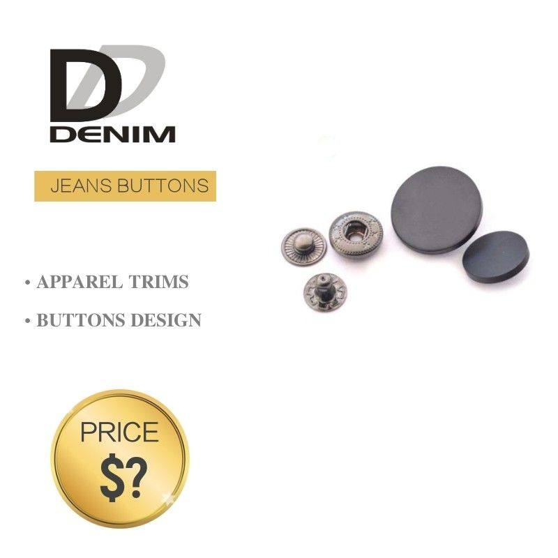 Sew On Button • Denim Metal Bulk Button • Shank Button  • Alloy Brass Copper Button supplier