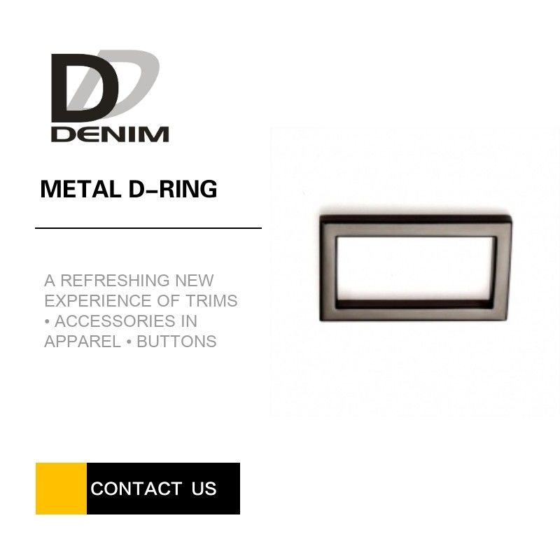 High Performance Rectangular Metal Rings Color Flexible For Backpacks supplier