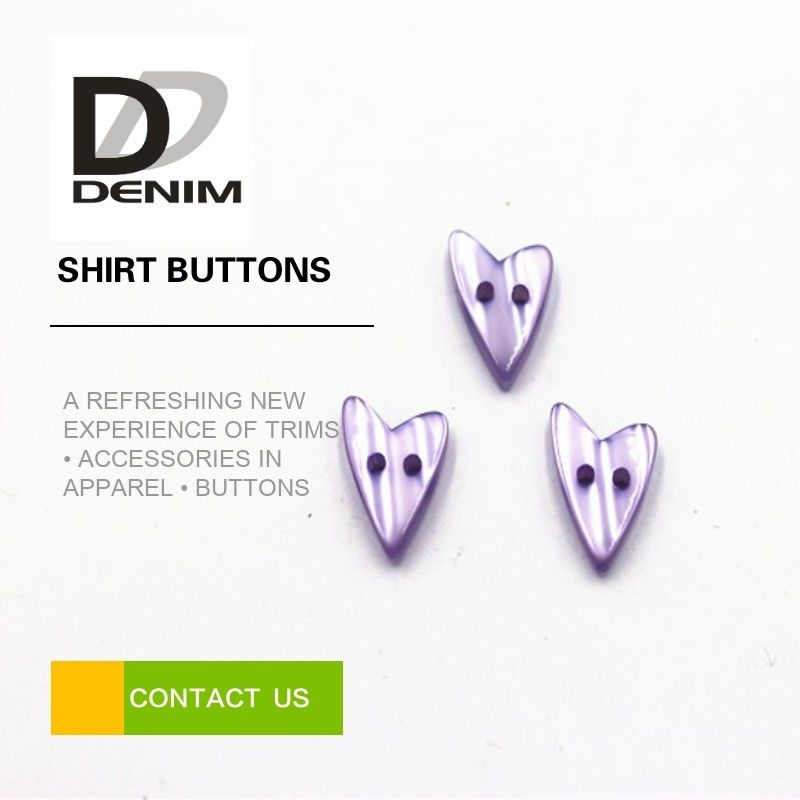Water Resistant Colored Shirt Buttons Heart Shaped For Women Clothing supplier