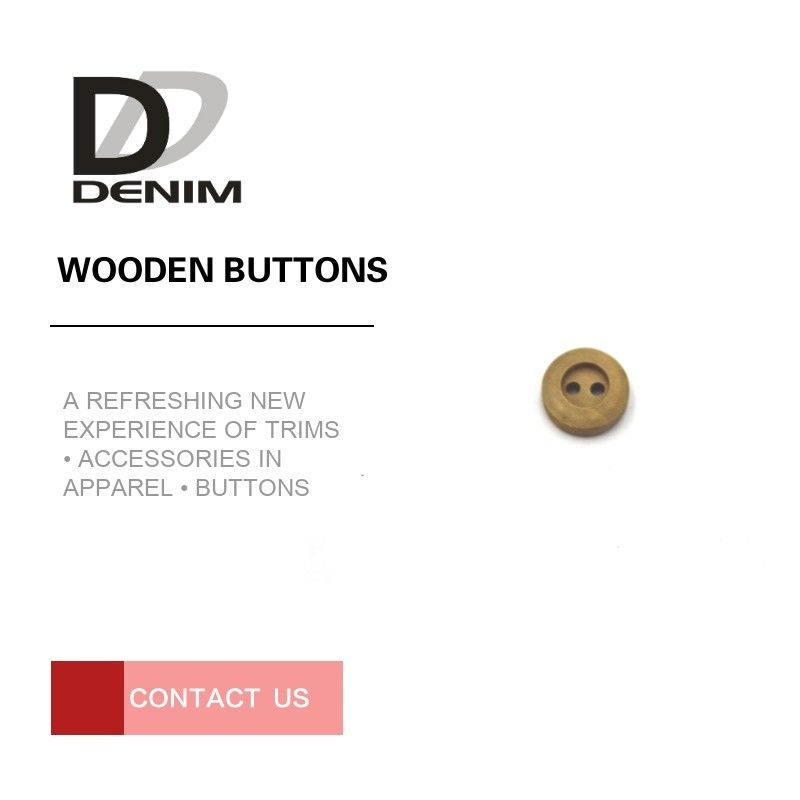 Mini Suit Craft Coloured Wooden Buttons Bulk Apparel Sewing Accessories supplier