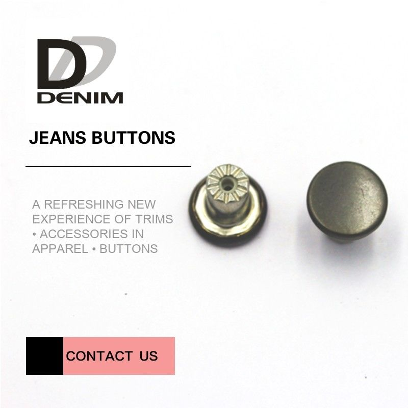 Washable Metal Clothing Buttons Bulk High Class Garment's Accessories supplier