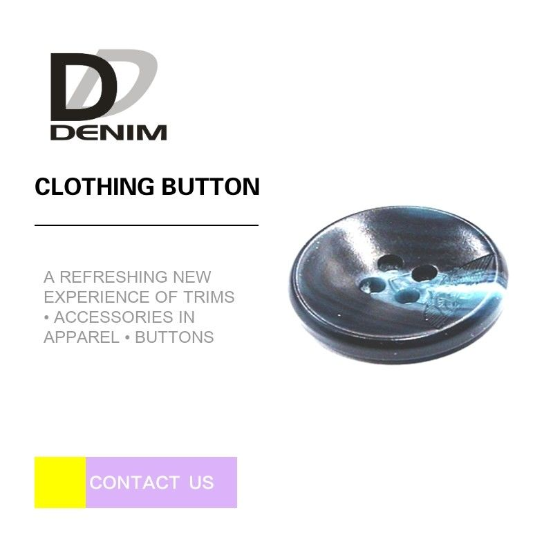 Portable Extra Large ing Buttons Four Holes For Mens Suit / Overcoat