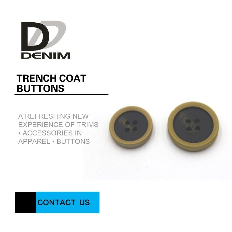Plastic 60L Extra Large Coat Buttons , Yellow And Black Mens Coat Buttons supplier