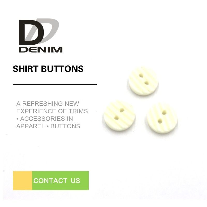 Portable White 2 Hole Plastic Button Waterproof For Garment Cufflinks supplier