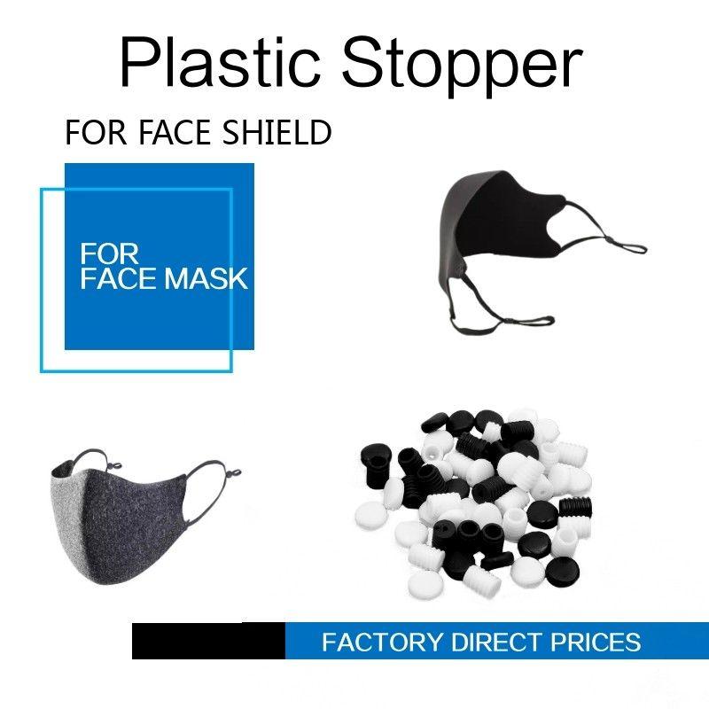 Cord Locks Buckle Plastic For Adjuster Elastic Band Stopper supplies Fastener