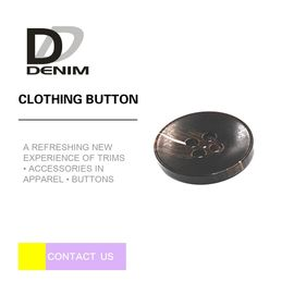 China Mens Clothing Black ing Buttons Bulk , Round Shaped Fashion Designer Buttons factory