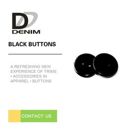 China Black Blazer Jacket Black ing Buttons , Extra Large Decorative Buttons 20L 24L 26L 28L factory